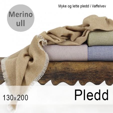Merinopledd vaffelvev
