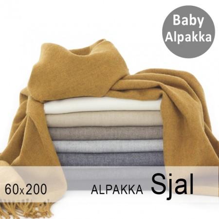 Alpakka sjal / store skjerf